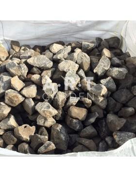 Pierre Pour Gabion Noir basalte 1000 Kg 0,6 M3 90/150