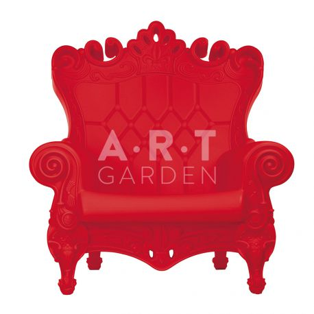Fauteuil Queen of Love Slide red