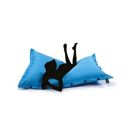 Pouf SHELTO bleu 125x175