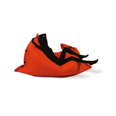 Pouf SHELTO rouge 125x175