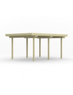 Carport indépendant en bois A12 471x359 cm