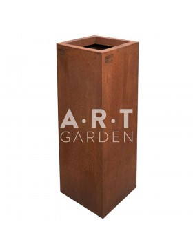 Jardinière design Walfilii Milan pour votre jardin look industriel en acier corten