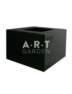 Jardinière colorée design Walfilii Duco pour votre jardin en acier laqué