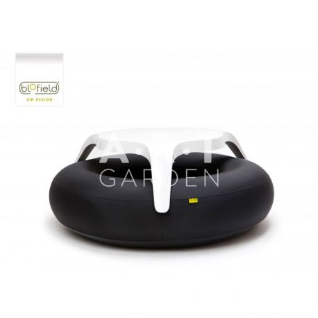 TABLE EXTÉRIEURE GONFLABLE DESIGN BLOFIELD DONUTS ORIGINAL BLACK
