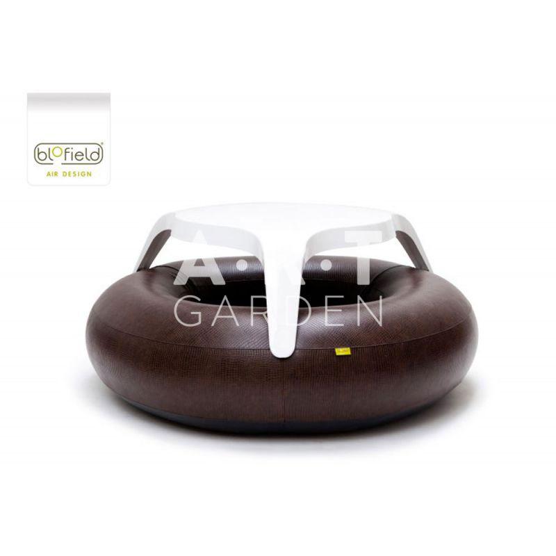 Table de jardin pour interieur et terrasse exterieur donuts animali - Table exterieure design ...