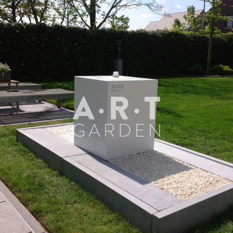 Table d eau tendance aux formes design walfilii for Bordurette acier pour jardin