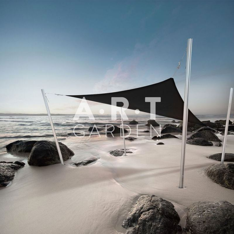 une superbe voile d 39 ombrage design pour votre jardin umbrosa. Black Bedroom Furniture Sets. Home Design Ideas