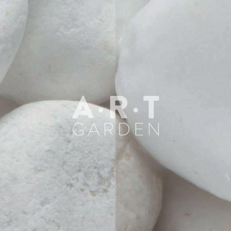 Graviers d coratifs de la gamme mont blanc 60 100 mm pour for Gros galets decoratifs