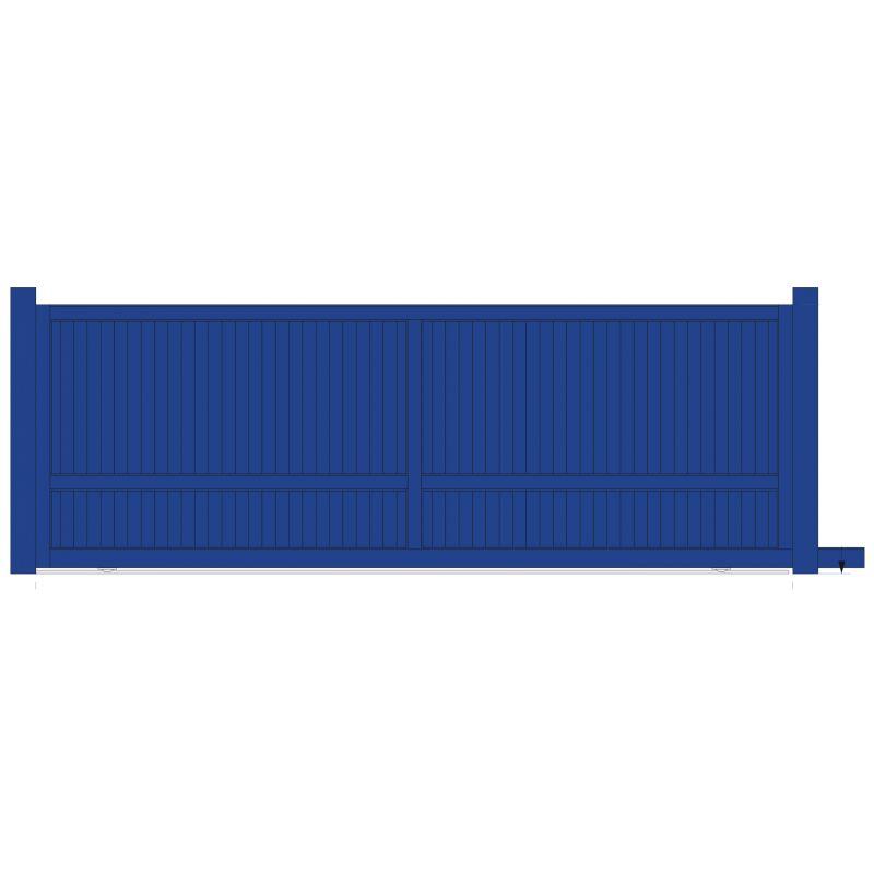 portail aluminium coulissant pas cher portail aluminium pas cher fauteuil relaxation pour prix. Black Bedroom Furniture Sets. Home Design Ideas