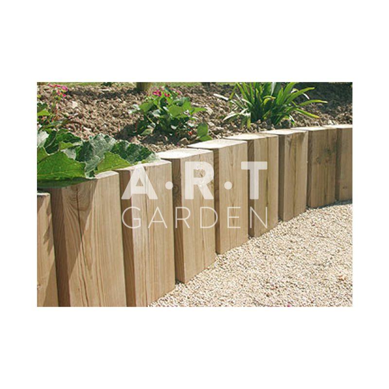 Poutre de paysage la dimension 9x12 cm en pin rouge du - Poutre bois pour exterieur ...