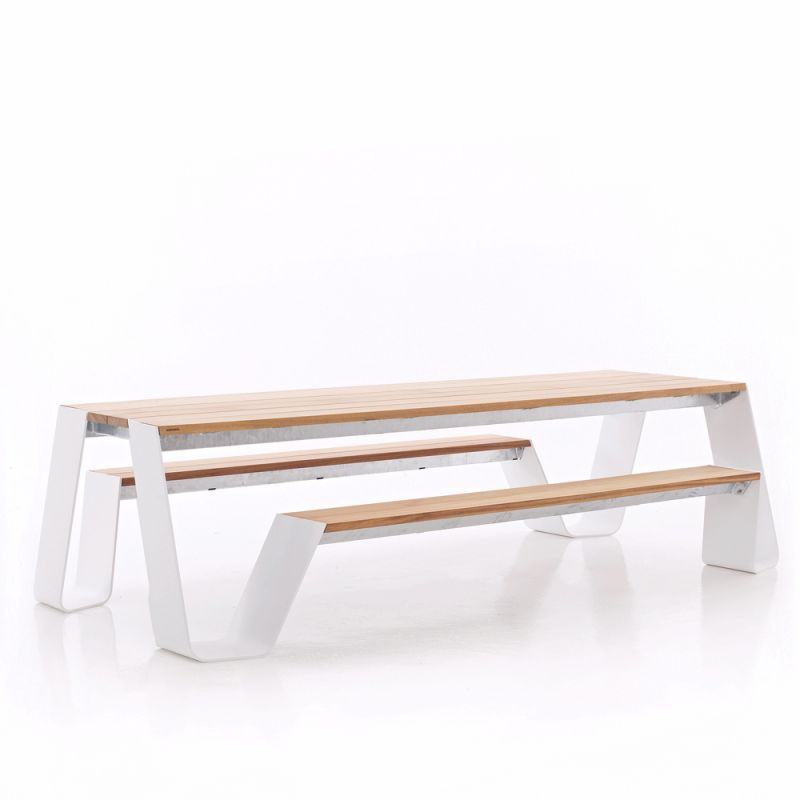 Table exterieur design id es de for Table exterieur rabattable
