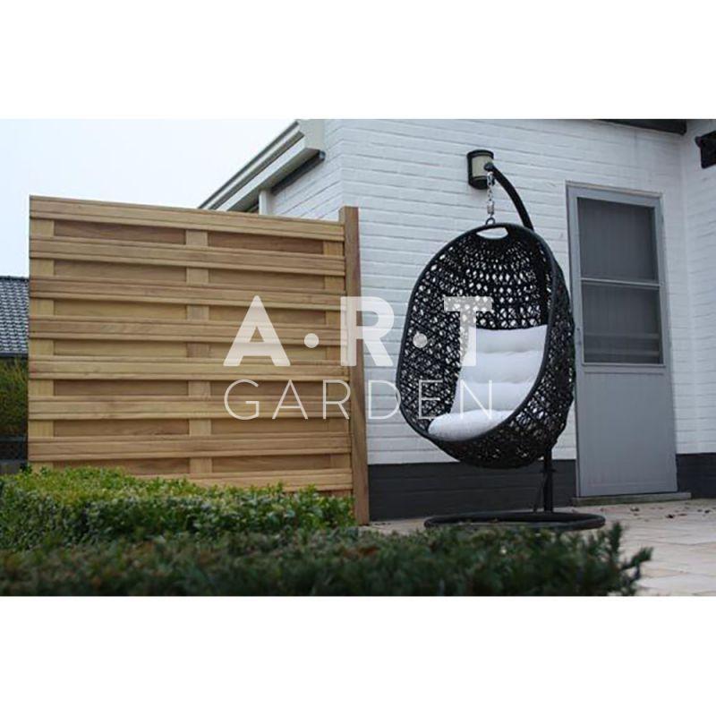panneau pour palissade en bois exotique mod le bombay. Black Bedroom Furniture Sets. Home Design Ideas