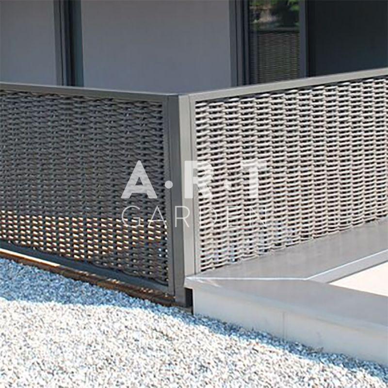poteau d 39 angle acier galvanis et peinture thermo laqu e. Black Bedroom Furniture Sets. Home Design Ideas