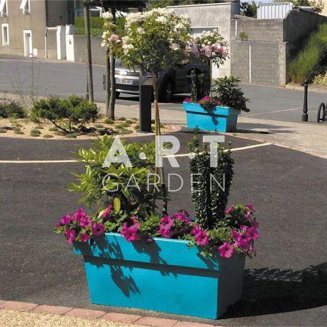 jardiniere rectangulaire plastique design et color e. Black Bedroom Furniture Sets. Home Design Ideas