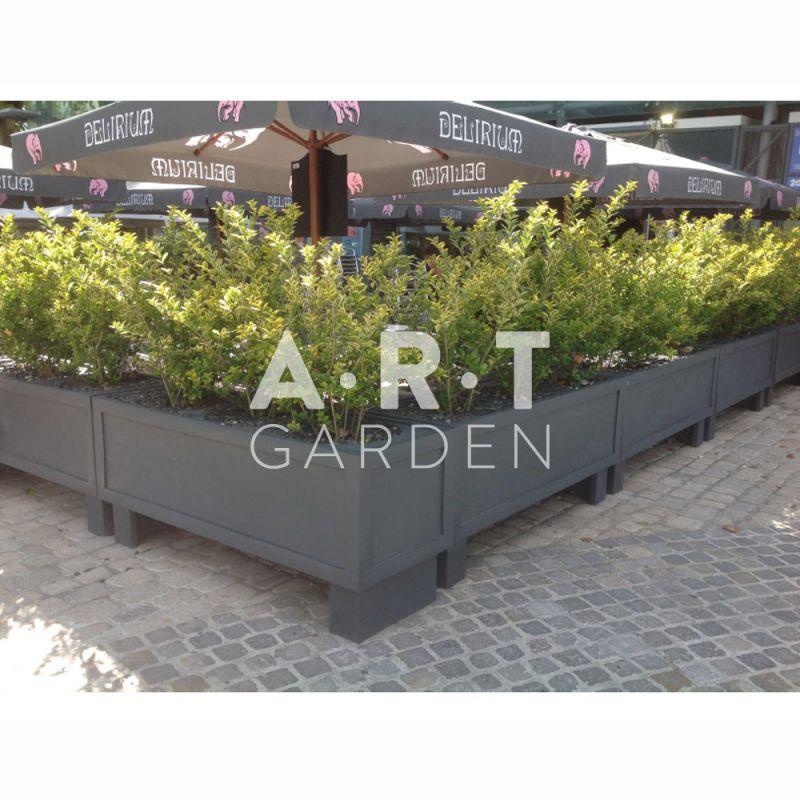 D co jardini re extendo pot pour plante ext rieure papi for Composition jardiniere exterieure