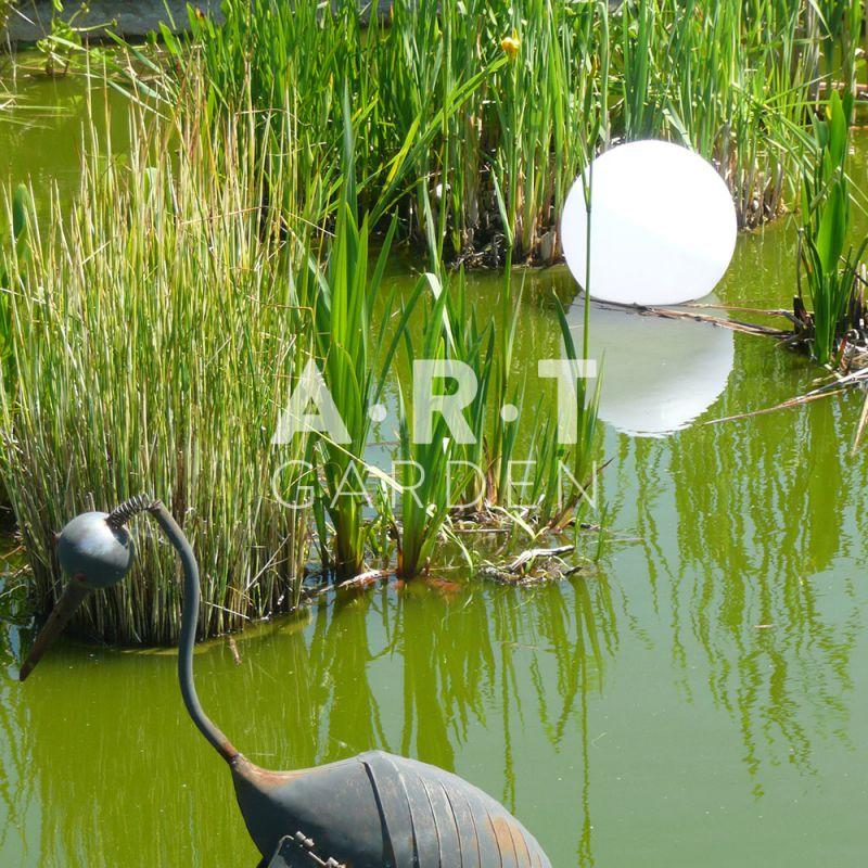 Boules lumineuses de jardin et terrasse tanches color es for Boules lumineuses jardin