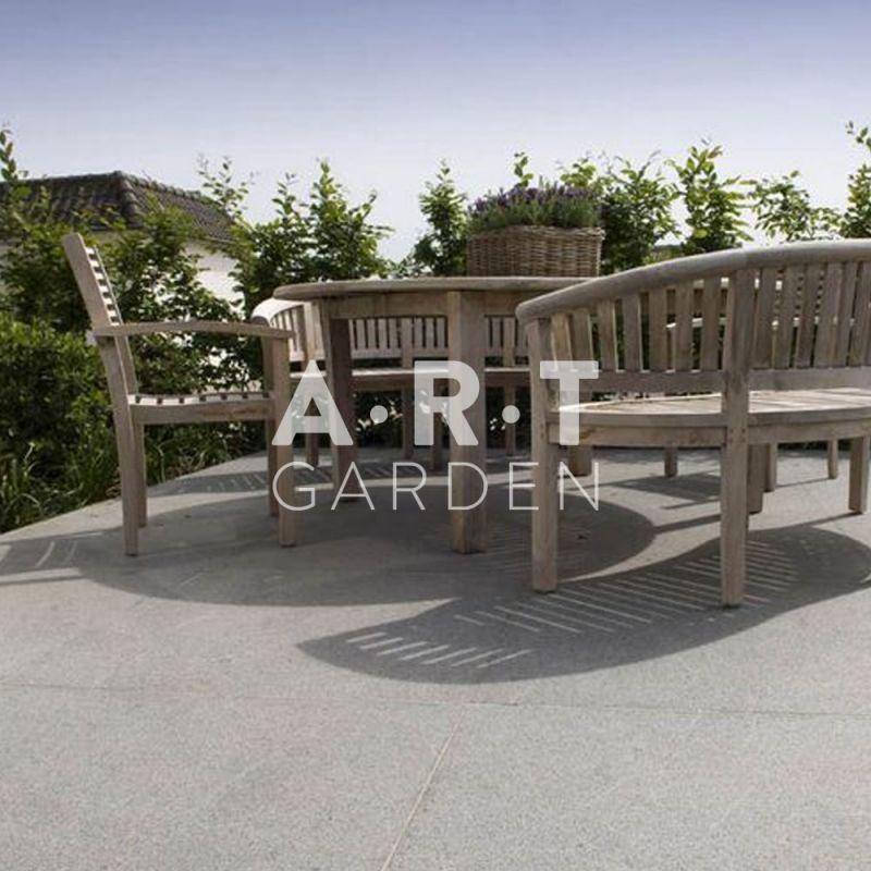 Granit chinois gris clair pour terrasse for Dalle granit pour terrasse