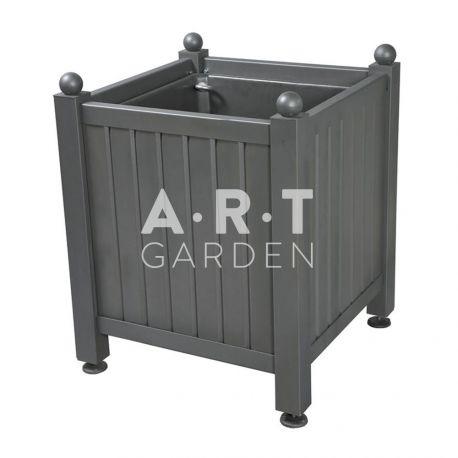 Bac d'orangerie acier avec panneaux tôle pliée Dualis Atech