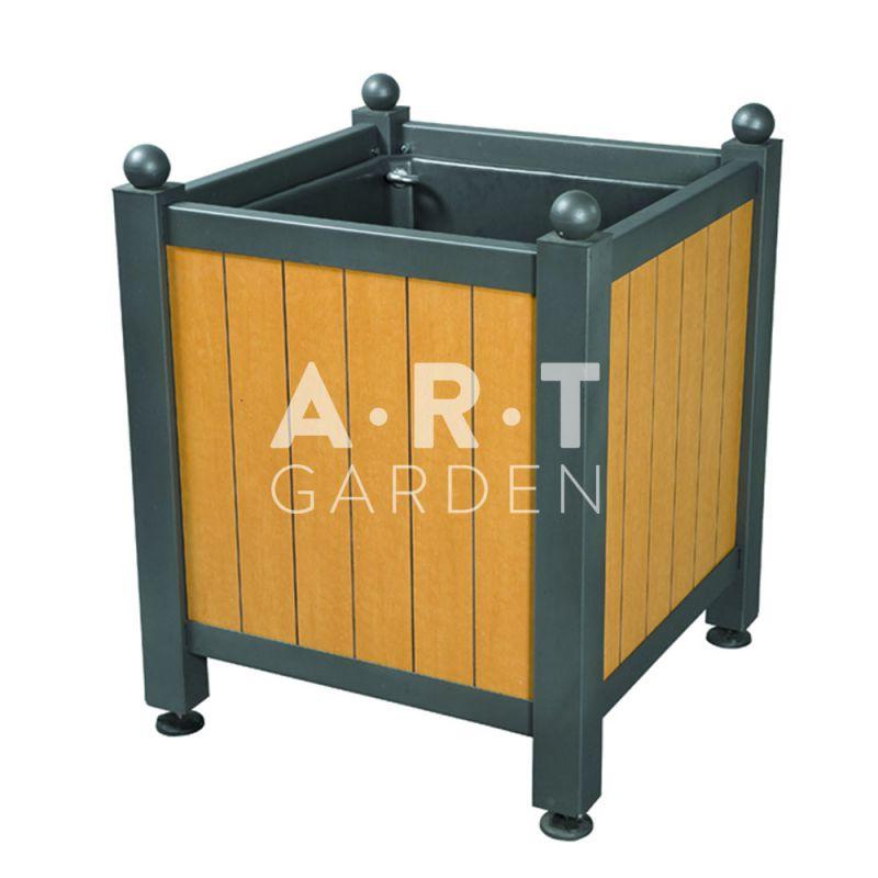 bac d 39 orangerie acier avec panneaux bois stratifi rainur dualis atech art garden. Black Bedroom Furniture Sets. Home Design Ideas