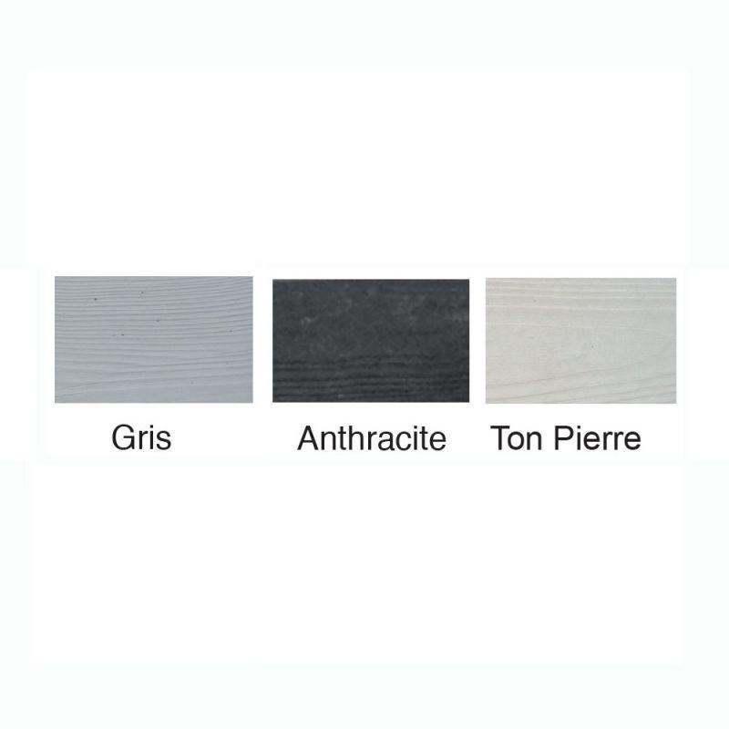 cloture b ton imitation pierres crois es plusieurs coloris. Black Bedroom Furniture Sets. Home Design Ideas
