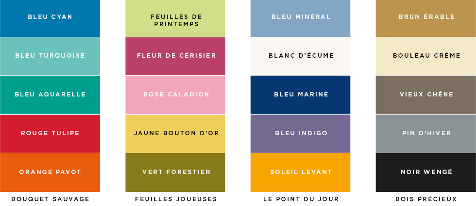 couleurs pots