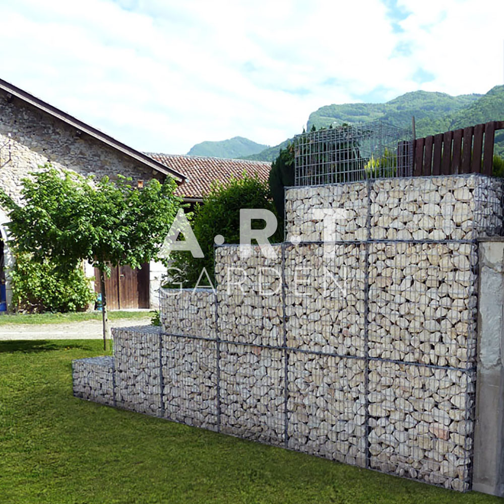 Comment monter un gabion art garden - Grillage pour gabion ...