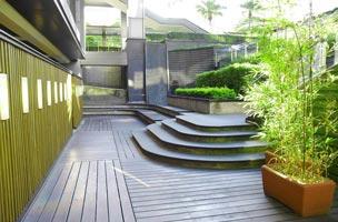 escalier de terrasse