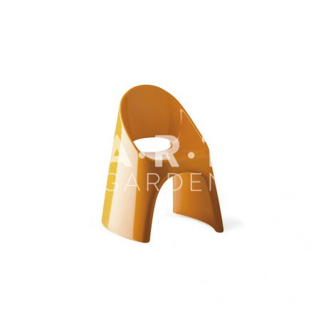 Chaise Amélie Slide orange