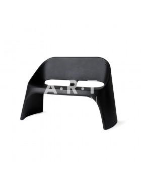 Chaise duo Amélie Slide noire