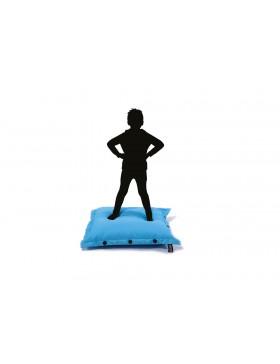 Housse pour pouf intérieur/extérieur SHELTO 100X100 bleu