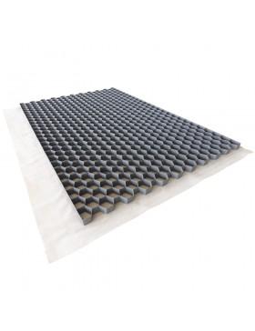 Stabilisateur de gravier 1200x800 mm Gris Nidagravel