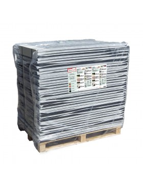 Palette de 35m² stabilisateur gravier 30 mm Noir Nidagravel