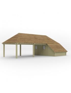 Poolhouse Model 43+ 1013,8x519 cm