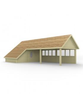Poolhouse Model 23+ 1013,8x519 cm