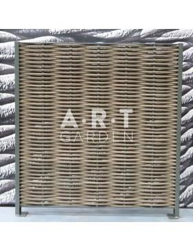 Cloture renforcée simple tressage composite fibre arrondie spécial bord de mer