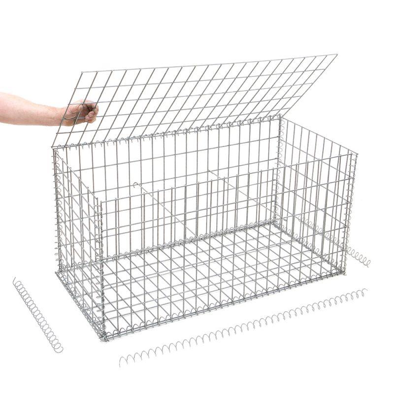 gabion au meilleur prix pour r aliser un muret en pierre. Black Bedroom Furniture Sets. Home Design Ideas