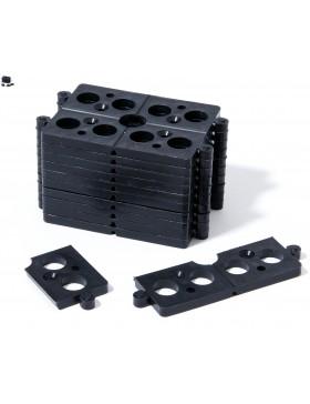 Carton de 400 CALE Universelle 5mm sécable en 4 JOUPLAST Pour Lambourdes