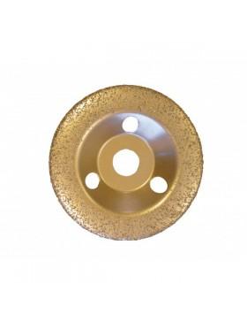 DISQUE 125 MM BOMBE - Grain fin