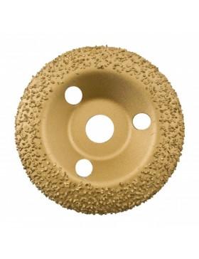 DISQUE 125 MM BOMBE - Grain moyen