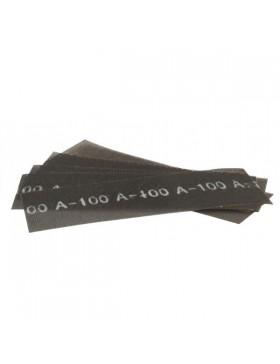 10 FEUILLES DE TREILLIS ABRASIF 280 x 93 MM Grain 220