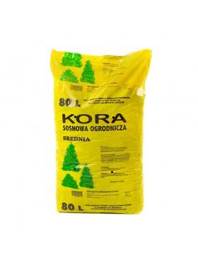 Paillage : Ecorce de pin - tout type de sol - Sac de 80L