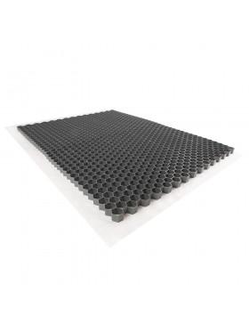 Palette de 24 Stabilisateurs de graviers (46,08 m²) - Gris - 120 X 160 X 4 cm Gris - Rinno Gravel