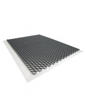 Palette de 33 Stabilisateurs de graviers (63,36 m²) - Gris - 120 X 80 X 3 cm Gris - Rinno Gravel