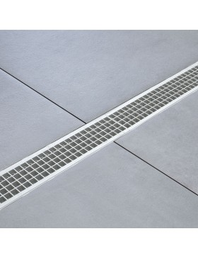 Grille grise extra strong clipsable 1000 x 130 mm – classe A15