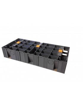 Außentreppe modulesca für Holz oder Platte 100 cm MODULESCA