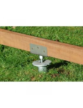 Connecteur inox pour structure en bois weasywood.