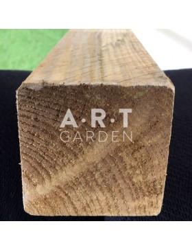 Poteau en bois pour clôture