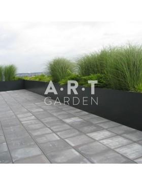 Jardinières colorées design Walfilii Sep pour votre jardin en acier laqué