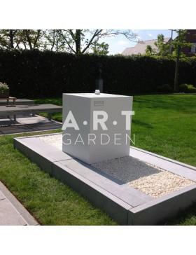 Table d'eau colorée design Walfilii pour votre jardin en acier laqué