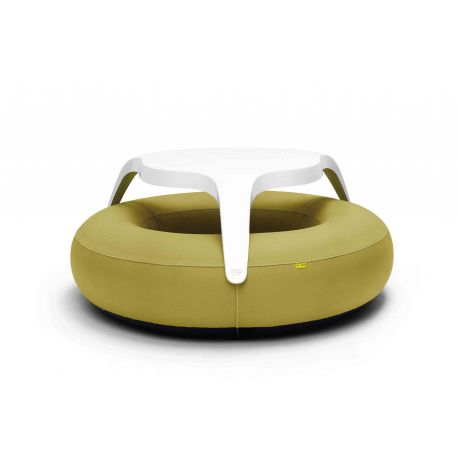 Table extérieure gonflable design Donuts Leather-Look